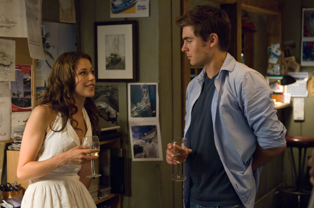 Tess Carroll (AMANDA CREW) romances Charlie (ZAC EFRON) in the romantic drama ?Charlie St. Cloud?.  In this emotionally charged story, Charlie begins a romantic journey in which he embraces the past while discovering the purpose of his life and the transformative power of love.