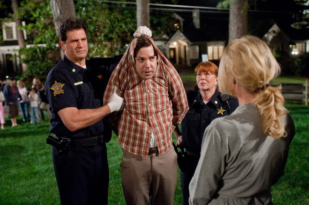 "JASON SUDEIKIS (second from left) as Fred in a scene from New Line Cinema's comedy ""HALL PASS,"" a Warner Bros. Pictures release. PHOTOGRAPHS TO BE USED SOLELY FOR ADVERTISING, PROMOTION, PUBLICITY OR REVIEWS OF THIS SPECIFIC MOTION PICTURE AND TO REMAIN THE PROPERTY OF THE STUDIO. NOT FOR SALE OR REDISTRIBUTION"