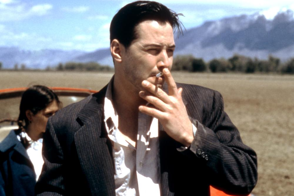 LAST TIME I COMMITTED SUICIDE, Keanu Reeves, 1996, cigarette